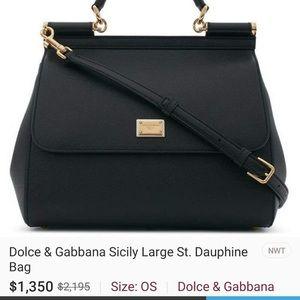 Large Dolce & Gabbana Sicily shoulder bag